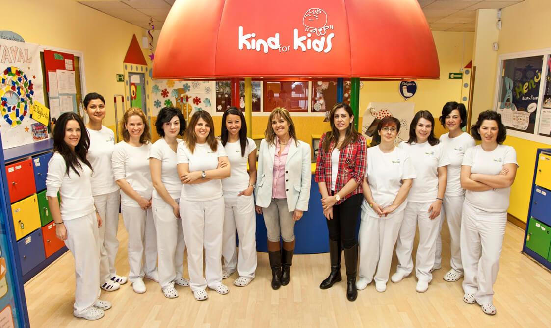 Equipo Kind for Kids escuela infantil Ciudad lineal